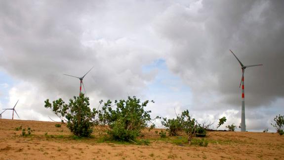 A wind farm in India. Image: Thinkstock.