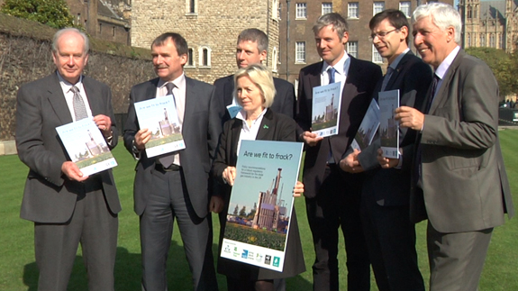 MPs Tessa Munt, Zac Goldsmith and Alan Whitehead join charities to call for better fracking rules.