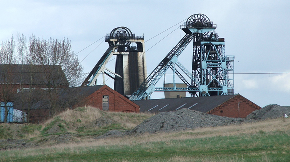 Hatfield colliery. Image: HHA124L via Compfight cc