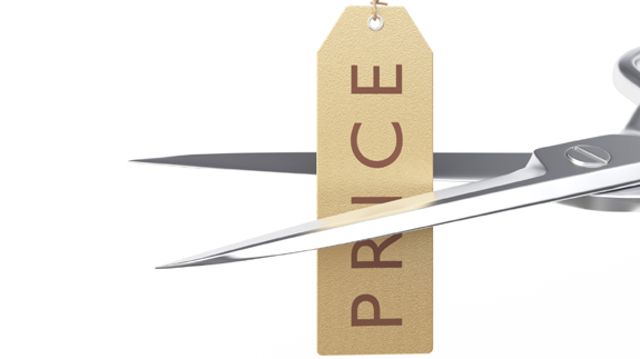 Price cut Copyright Thinkstock