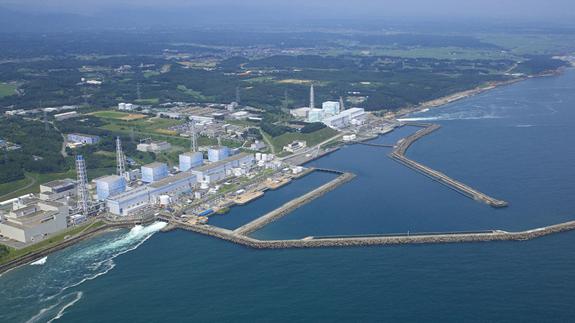 The Fukushima Dai-ichi nuclear site. Image: TEPCO