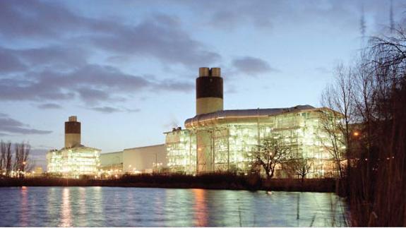 Barking Power station,  east London. Image: Atco Power