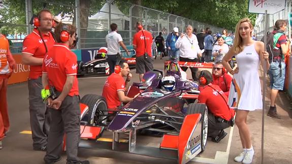 Last year's Formula E season finale in London's Battersea Park. Image: ELN