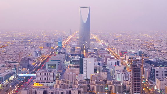 Saudi Arabia's Kingdom Centre, in the capital city Riyadh. Image: Thinkstock