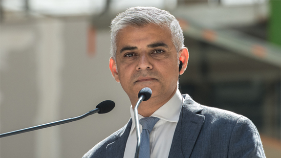 London Mayor Sadiq Khan. Image: Frederic Legrand - COMEO/Shutterstock