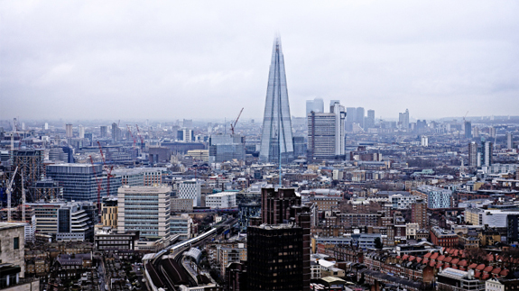 London skyline. Image: Thinkstock