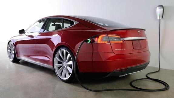 A Tesla charging.Image: Tesla