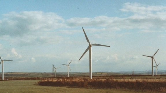 Delabore onshore wind farm. Image: Good Energy