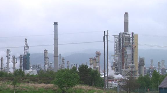 A carbon capture demonstration plant. Image: ELN