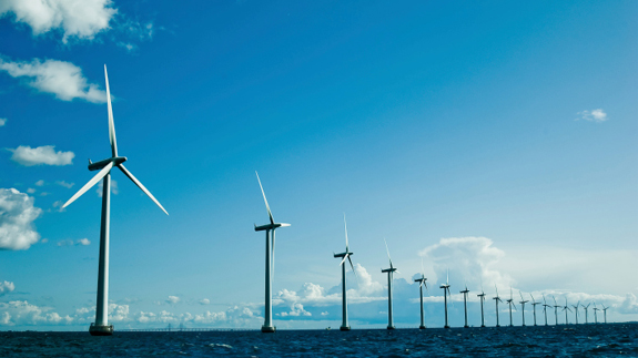 Offshore wind farm. Image: Thinkstock