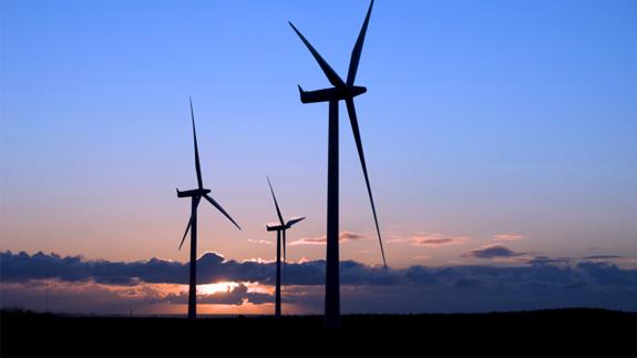 An onshore wind farm in Scotland. Image: Thinkstock